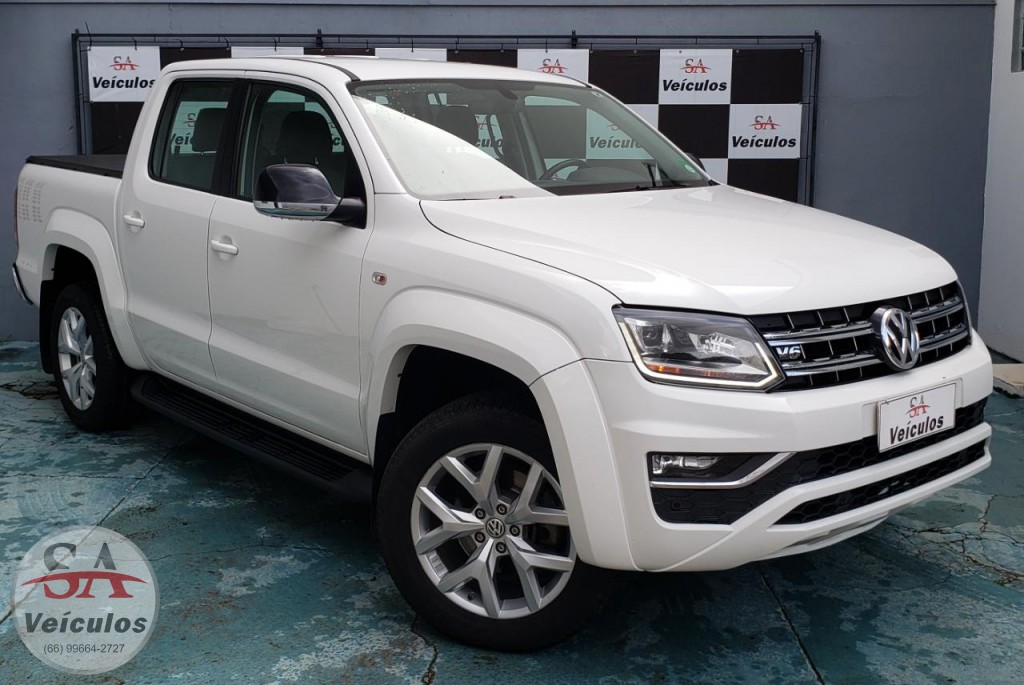 VW - VolksWagen AMAROK Highline CD 3.0 4x4 TB Dies. Aut. 2018