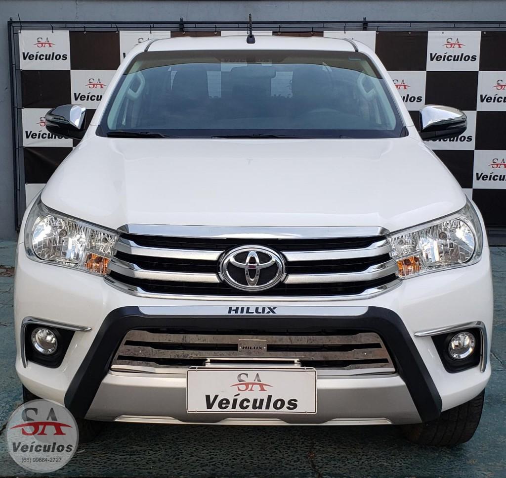 Toyota Hilux CD SRV 4x4 2.7 Flex 16V Aut. 2018