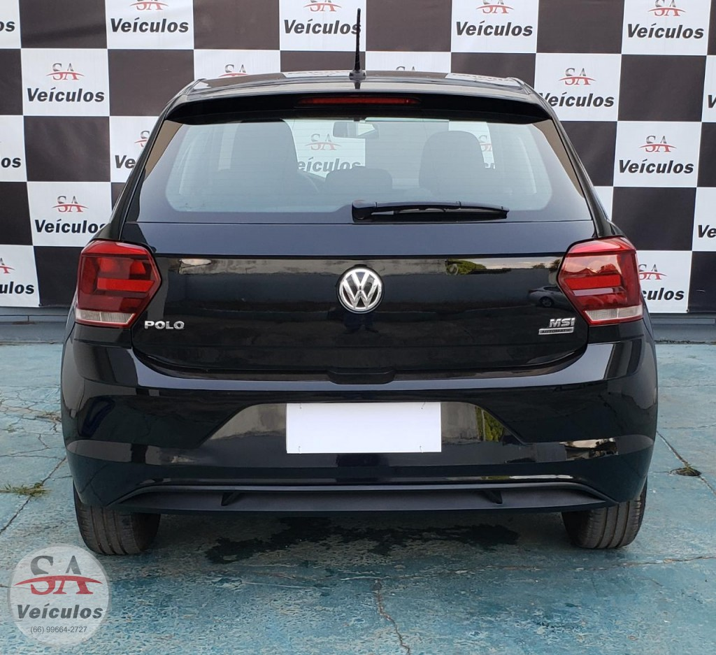 VW - VolksWagen Polo 1.6 MSI Total Flex 16V 5p Aut. 2020