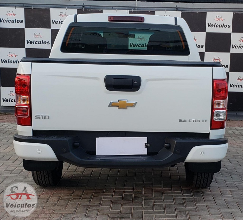 GM - Chevrolet S10 Pick-Up LT 2.8 TDI 4x4 CD Diesel Aut 2019